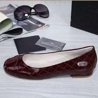 ballerina wine - A1503 size women flats black wine colors round toe lady ballerina slip on flats