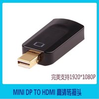 Wholesale HOT P mini DP to HDMI adaptor connector converter designed for Macbook and powerbook HD video conversion