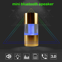 audio pillow - New Popular selling stereo led light car bluetooth hand free call mini speaker pillow Active speaker