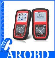 al por mayor pruebas eléctricas-OBD2 / EOBD Lector de código AUTEL Autolink AL439 OBD II + Prueba eléctrica Auto Link AL-439 Car Scan Tool
