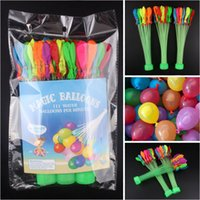 Wholesale Factory Price Crazy Water Balloons per Fill water balloons in one minute Bubble Latex Balloon to refill Water as Water Toys free