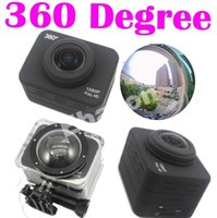 "Cheap X360 Action Cam 360 Degree View Camera Wifi 1080P Full HD 60M Waterproof 2"" LCD Extreme Video Recorder"