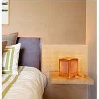 Wholesale Creative Gift Wooden Lamp Simple Fashion Wood Bedroom Desk Lamp Bar Cafe Decorative Lamp