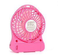 Wholesale USB Mini Portable Fans li ion Rechargeable Battery Powered Outdoor Camping office USB Cooler Adjustable Speed Fan from dannywholesale