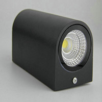 bathroom gardens - 2 W COB Outdoor or Indoor LED Lamp Wall Sconces LED IP65 Garden Light Bathroom Lighting Wall Lamp LED UP Down Wall Light Water