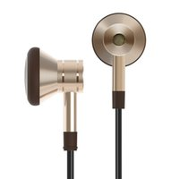Wholesale Original Xiaomi MORE m Super Bass Clear Voice Earphone Piston Metal In Ear Headphones for iPhone for Samsung Smartphone