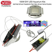 best marine aquarium - 50w W Aquarium Light for Coral diy w Multichips Led Aquarium Led Chip best for marine Fish Tank for Coral Reef Growing