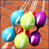 Wholesale Sex Trainer For Virgin Women - Sex Toys Kegal and Smart Bead Ball Love Ball Vaginal Exerciser Virgin Trainer Sex Product For Women Adult Toys