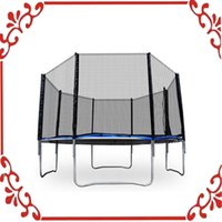 Wholesale 12 Round Trampoline Set legs New With Frame Blue safety Pad Netting Ladder