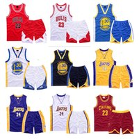 basketball jersey sets - Boys Set Basketball Jersey For Baby Clothes Two Pieces Suit Children s Clothes Tops And Pants Suits Sports Set With Printed