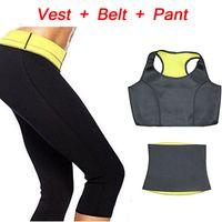 hot shapers - Pants Vest Belt HOT Selling Super Stretch Neoprene Shapers Sports Clothing Sets Women s Slimming Pants Modeling Girdle Body
