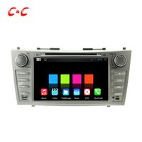 Wholesale Quad Core Android Car DVD Player for Toyota CAMRY with Radio GPS Navi Wifi DVR Mirror Link BT X600 Free Gifts