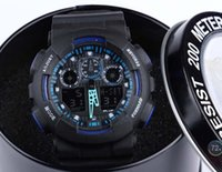 Wholesale Newest Latest model watch ga100 ga watch classic wristwatch g style relogio reloj de pulsera LED WATCH