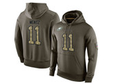 america eagles - New Men s Eagles Lockup Pullover hoodies Philadelphia Carson Wentz Olive Green America Football Sweatshirts size M XL