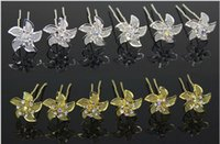 american windmill - Sexy bridal head pieces gold and silver windmill mesh alloy U pins for bridal bridal hair pins bridal hair flowers wedding accessories