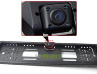 Wholesale EU Russia Car License Plate Frame Holder Rear View Camera For European Cars With IR Light Waterproof IP67 CA0058