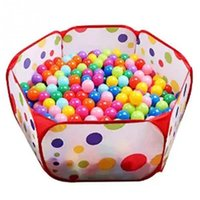 Wholesale Foldable Baby Play Game Ball Pit Polka Dots Baby Tent Marine Ball Pool Baby Educational Toy Indoor Tent