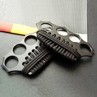 Wholesale NEW AZAN Brass Knuckles Knuckle Dusters Summoner Fist Deduction for Self defense Factory Price Top Quality