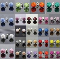 Wholesale good factory pirce10mm Mixed Color In Random MSB disco Ball Beads Bangles FRDG Women Men Crystal Shamballa Bracelet jewelry