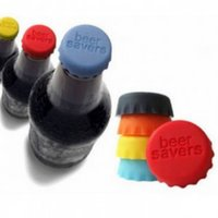 beer bottle corks - Reusable Silicone Beer Savers Bottle Caps Red Wine Juice Caps Sealer Bottle Top Covers Practical Kitchen Tools Stopper Cork Cap