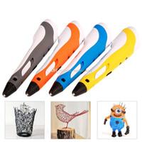Wholesale 3D Printing Drawing Pen Crafting Modeling ABS Filament Arts Printer Tool st Gen B00252 FASH