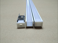 Wholesale LED aluminum profile channel for rigid strip Bar Light jewelry counter Cover waterproof