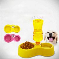 Wholesale New Arrival Colorful Dog Pet Portable Bowls Travel Feeding Bowl For Dogs Amphibious Can Be Inserted Into The Bottle