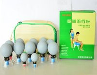 acupuncture and tcm - hot sale Cups household Vacuum Haci Magnetic Therapy Acupressure Suction Cup TCM acupuncture and moxibustion Cupping Set G H16081602