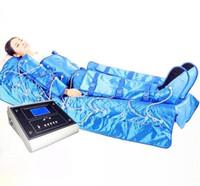 China air legs - 3 in far infrared air pressure leg massager lymphatic drainage machine