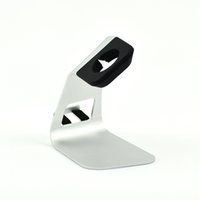 Wholesale 2 in Aluminum stand for smart watch charge dock and for mobile phone charge stand dock