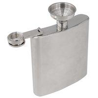 alcohol gift box - TFBC UK Stainless Steel Hip Liquor Whiskey Alcohol Pocket Flask Gift Box Funnel