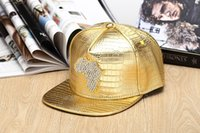 africa baseball hat - Summer Hiphop Leather Cap Leopard Patchwork Snapback Gorras Baseball Caps Casual Adjustable Map of Africa Diamond inlay Hat