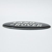 Wholesale 10pcs D Black Green For Land Rover Emblem Sticker Freelander discovery series series Emblem Evoque Head Tail Decor cm