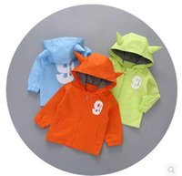 Wholesale Hot sell New Autumn baby Kids Clothing Outwear Tench coats for months baby