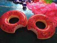 Gigantic Donut piscina inflável flutua Piscina Float Adult Pool flutua Verão Brinquedos natação piscina carros alegóricos