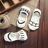 artists birds - Cotton Women Socks Black and White Bird Artist Peds Footies No Show Low Cut Ped Girls Nonslip Sock Slippers Shoes L