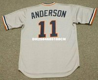 anderson grey - SPARKY ANDERSON Detroit Tigers Majestic Cooperstown Away Baseball Jersey
