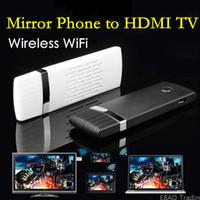 Vente en gros sans fil Wifi Miroir Vidéo HDMI HDTV TV Dongle adaptateur pour iPhone 6 6S Plus 5S SE Samsung Galaxy S7 S6 bord Note 5 4 3