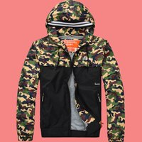 air clothes dryer - HOT sale Super Dry Camouflage Jackets hoodie clothes hood by air men Outerwear patchwork Winter parka Coats Popular top quality