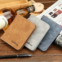 Wholesale Fashion Men s Fashion Brand Wallet Male Purse Carteira Wallet New Design Purses Designer Wallets DHL