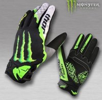 Wholesale The new off road mountain cross country riding gloves gloves gloves Kawasaki gloves DH Downhill