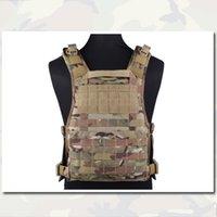 Wholesale Molle RRV Vest Back Panel Tactical Vest Emerson MOLLE Airsoft Hunting Camouflage Vest Plate Carrier Genuine Multicam