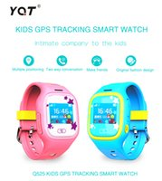 best touch screen remote control - Best Selling Q525 Touch Screen WIFI GPS Smart Watch Children SOS Call Location Finder Device Tracker Kid Safe Anti Lost Monitor Kids Guider