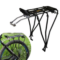 Wholesale Aluminum Alloy MTB Bike Bicycle Rack Carrier Rear Luggage Travel Cycling Shelf Bracket For Disc Brakes Bike kg Deadweight B098