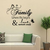 beach quotes - decorating beach homes New Arrival Vinyl Wall Quotes Family Love CM Livingroom Bedroom Wall Art Family Wallstickers Home Decor