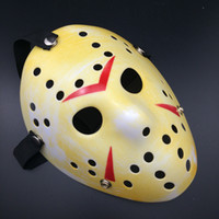Wholesale St day masquerade mask thickening Jason mask Terrorist whimsy mask Halloween masks necessary sales in