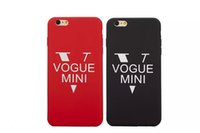 apple iphone news - Good News Fashion Vogue mini case for apple iphone plus Frosted back cover funda for coque iphone se cases