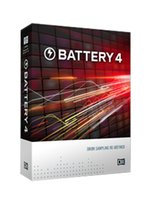audio library - Native Instruments Battery v4 with the original PC version of the audio soft sound library