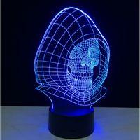 balloon lamp diy - Skull designs D creative gift led Lamp Color Changeable Light Atmosphere Magic Balloon USB V Night Lights