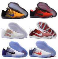 Wholesale Cheaply Kobe Basketball Shoes Sneakers Mens Man White Bryant Kobes IX Elite Sports KB s EP Trainer Basketball Shoe Size
